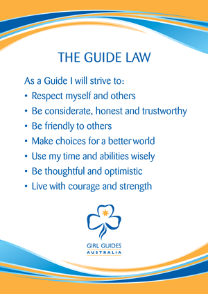 Law poster